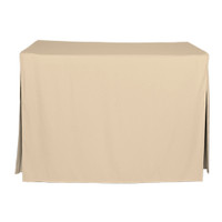 4-Foot Fitted Table Cover - Natural