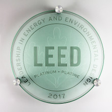 LEED Plaque - Platinum