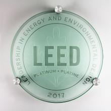 LEED Plaque - Platinum | Canada