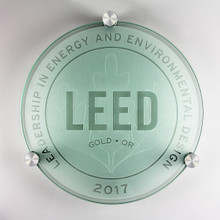 LEED Plaque - Gold