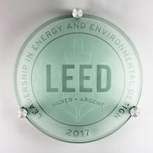 LEED Plaque - Silver | Canada