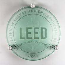 LEED Plaque - Certified | Canada