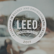 LEED Decal - Platinum (Front)   Canada