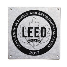 LEED Canada for Homes Plaques   Available to LEED Platinum, Gold, Silver and Certified homes.