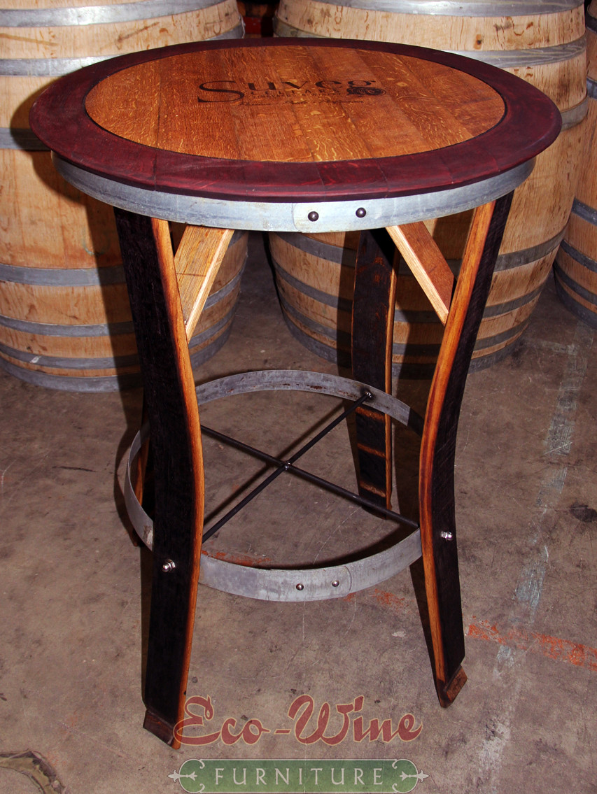 wine barrel furniture table rh ecowinefurniture com wine barrel tables for sale wine barrel tables and chairs