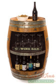 Wine Barrel Rack, Storage Handcrafted