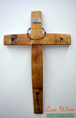 CROSS MADE OUT OF WINE BARRELS HANDMADE