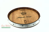 Wine Barrel Lazy Susan Pinot Noir WF
