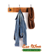 WINE BARREL STAVE  KEY,COAT RACK