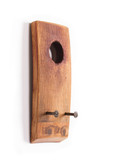 WINE BARREL STAVE  KEY HOLDER