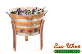 WINE BARREL 30 GALLONS ICE COOLER