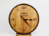 Whiskey Barrel Clock