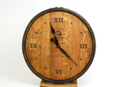 Whiskey Barrel Clock
