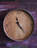 Wine Barrel Clock 1