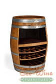 Wine Barrel Rack, Storage Handcrafted 2