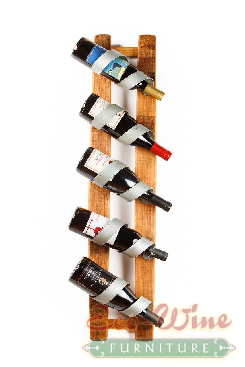 Wine Barrel Furniture Wine Bottle Display