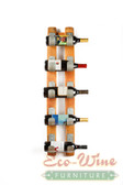 WINE BARREL 5  BOTTLE DISPLAY, U DESIGN
