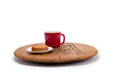 Whiskey Barrel Lazy Susan Flat 2