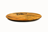 Whiskey Barrel Lazy Susan Flat 3