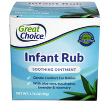 Great Choice Baby Rub - Compare to Vick's Baby Rub 1.76 oz.