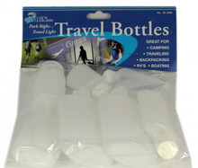 Airline Approved 8 pc Travel Bottle Set