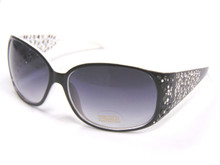 20686 Blk/Wht Sunglasses