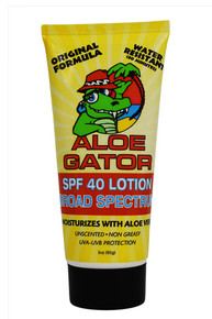 Aloe Gator SPF 40 Lotion 3 oz.