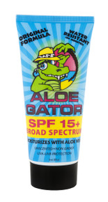 Aloe Gator SPF 15 Lotion 3 oz.