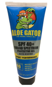 Aloe Gator SPF 40+ Gel 4 oz