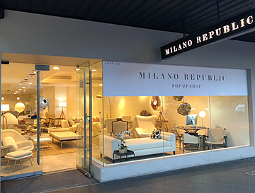 Milano Republic Popup Store - Paddington NSW