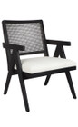 The Imperial Arm Chair - Black (cl)