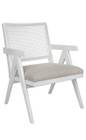 The Imperial Arm Chair - White (cl)