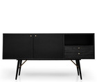 CDT2293-DW Buffet Unit - Black (cf)