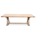 CDT2576 Reclaimed Elm Wood Dining Table 2.4m (cf)