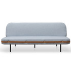 CLC2600-NIS 3 Seater Sofa Bed - Light Blue (cf)