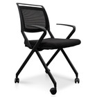 COC2346-SN Office Visitor Chair - Black (cf)