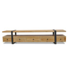 CTV594 Reclaimed Lowline TV Entertainment Unit - 2.2m - 46cm (H) (cf)