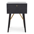 CST2666-DW Bed Side Table - Black (cf)