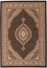 Stunning Formal Oriental Design Rug Black (ux)