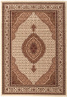 Stunning Formal Oriental Design Rug Cream (ux)