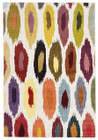 Alure Modern Multi Coloured Rug (ux)