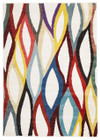 Ellis Modern Multi Coloured Rug (ux)