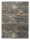 Hanna Lace Rug Blue Natural (ux)