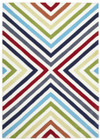 Cross Roads Design Rug Multi (ux)