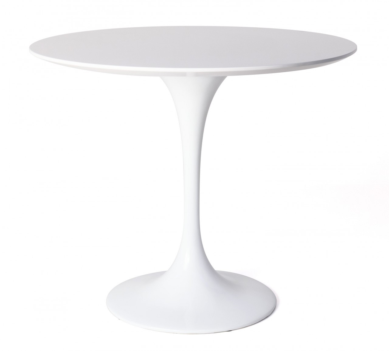 replica tulip dining table white fiberglass 90cm replica frrniture. Black Bedroom Furniture Sets. Home Design Ideas