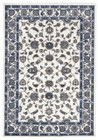 Classic Rug White with White Border (ux)