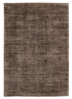 Luxe Modern Distressed Rug Brown (ux)