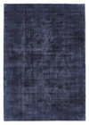 Luxe Modern Distressed Rug Navy (ux)