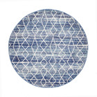 Culture Blue Transitional Rug (ux)