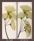 Frameless Hand Painted Oil Painting-flowers - 51x127cm/each